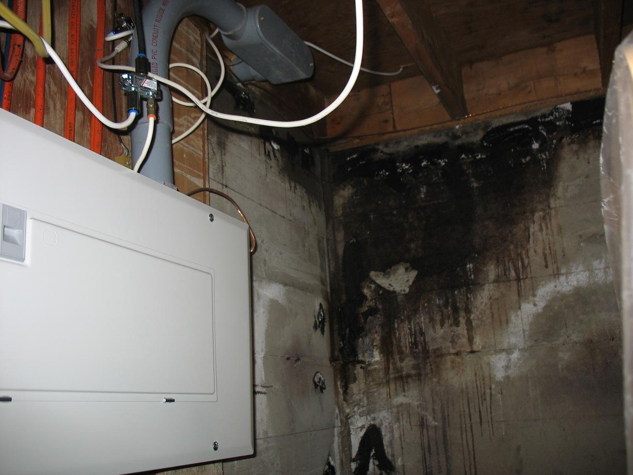 Faites le vous m me d contamination de moisissure - Infiltration sous sol maison ...